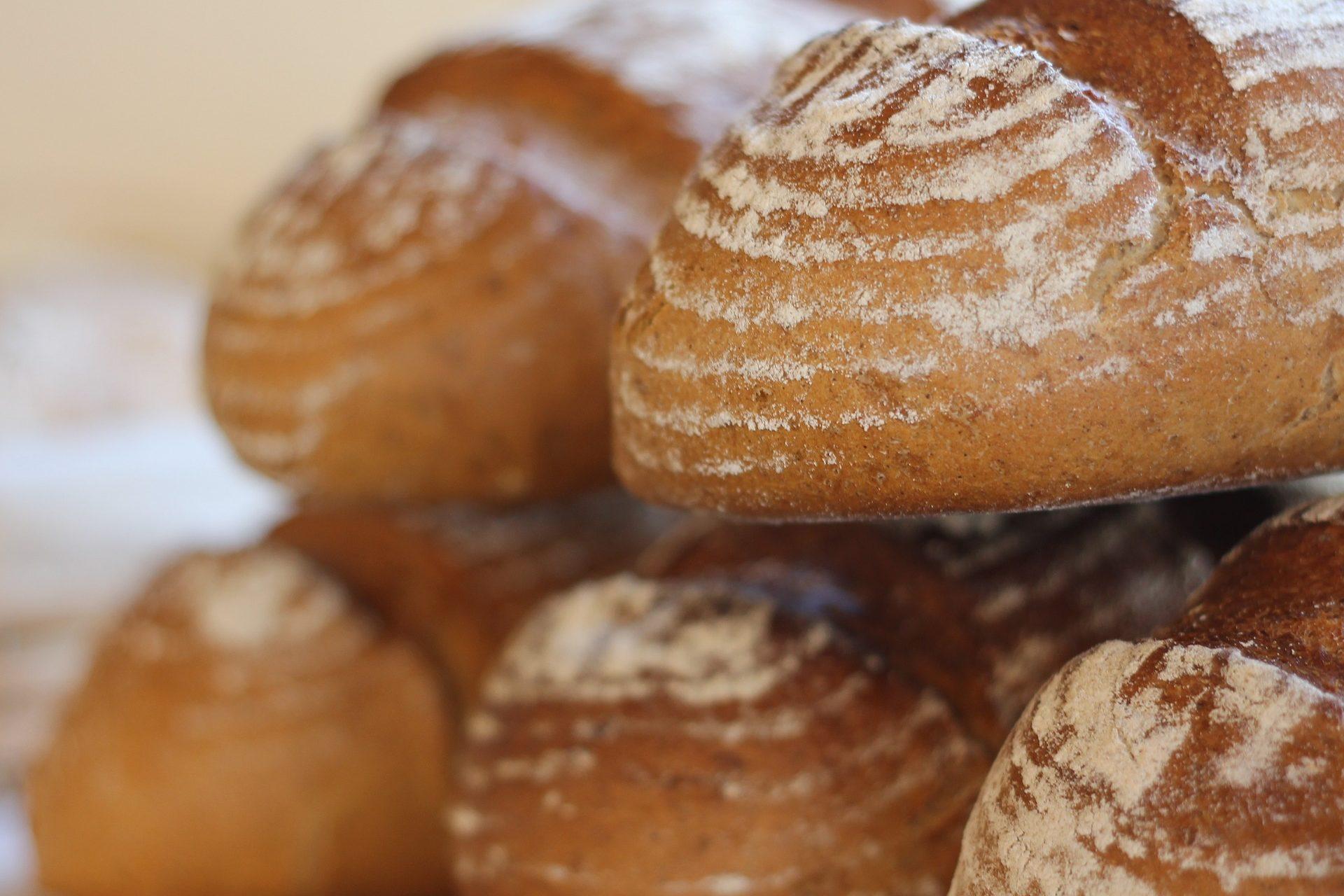 Enjoy fresh rolls from Lough's bakert