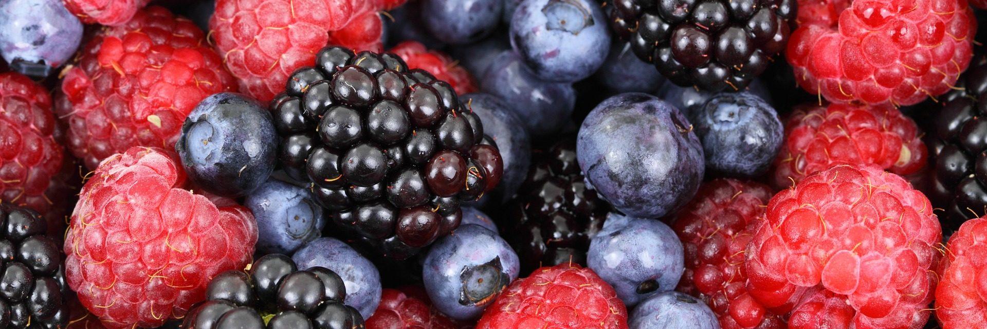 Punnet of berries