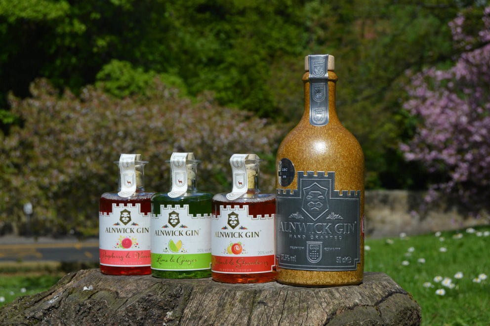 Gin products from The Northumberland Spirit Co