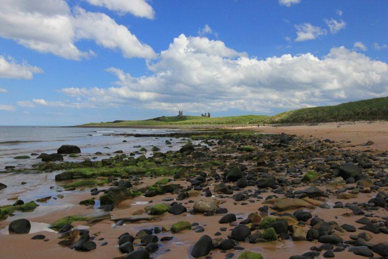 Dunstanburgh castle view
