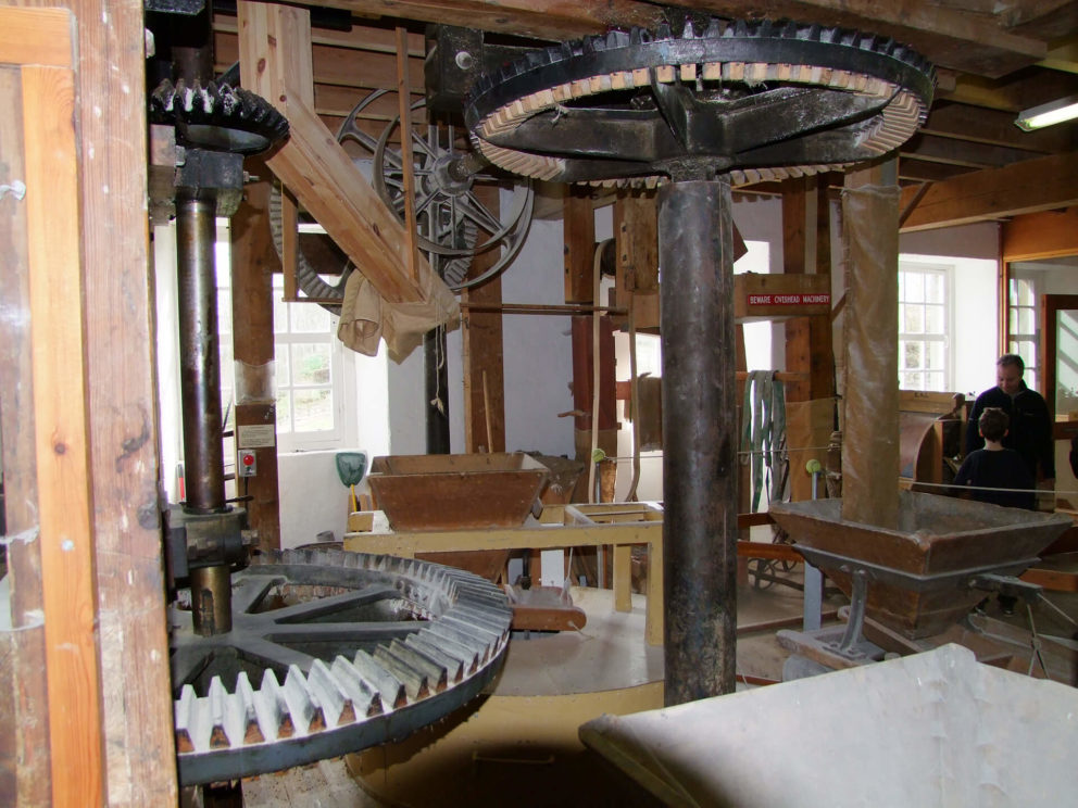 An old working flour mill