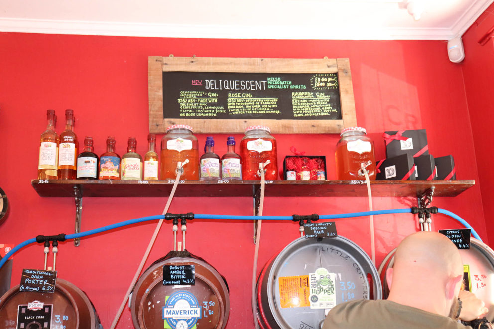 The casks change regularly and there's an array of DeliQuescent flavours to try!
