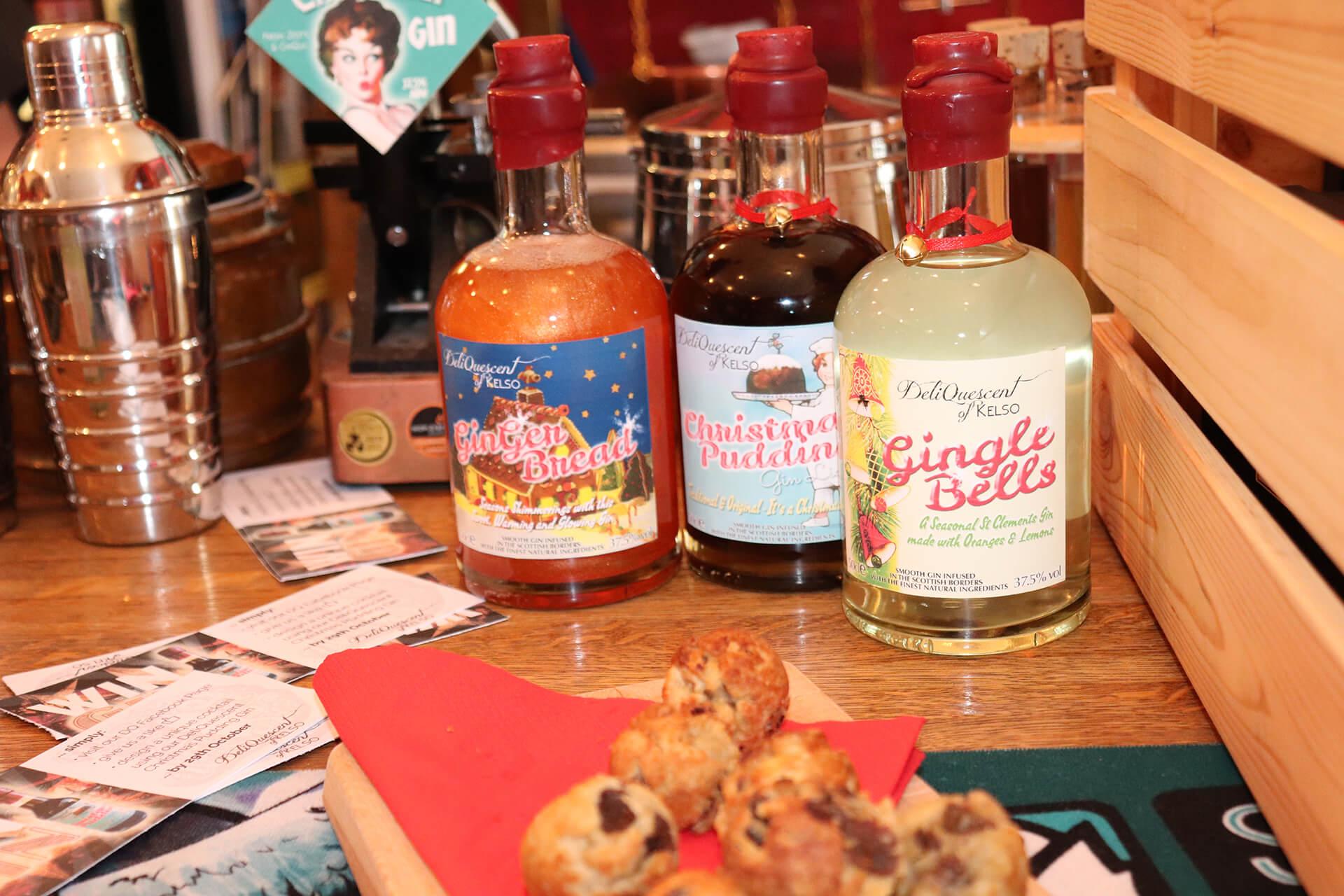 We 3 gins: DeliQuescent's seasonal gin range