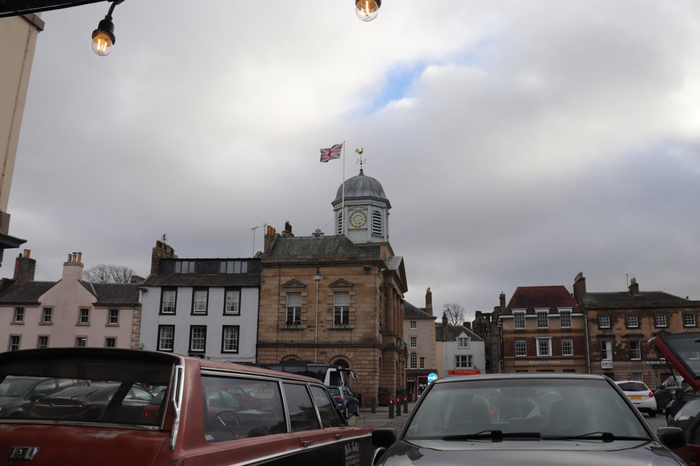 Rutherford's is in the centre of the beautiful market town of Kelso