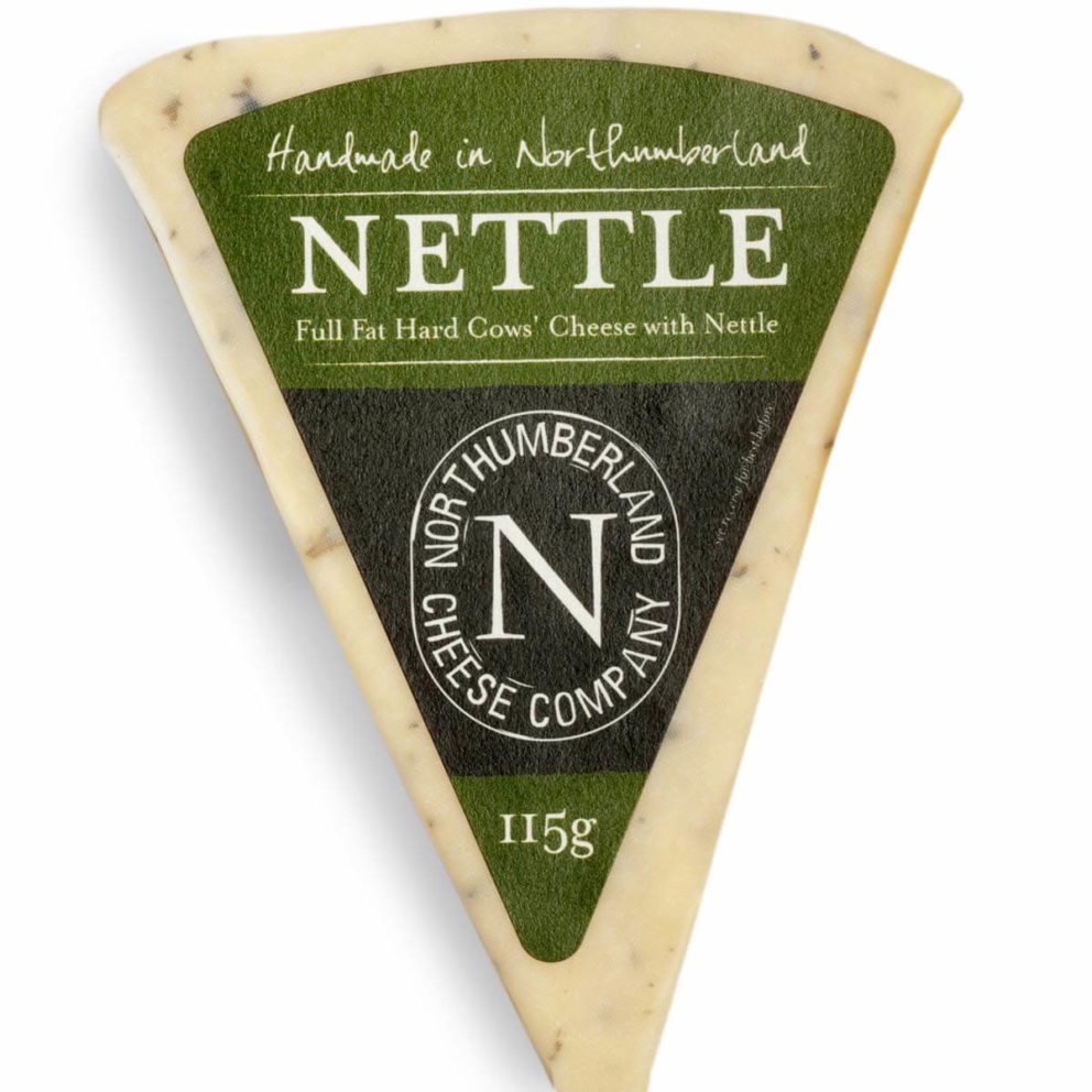 Northumberland Cheese Co's nettle cheese