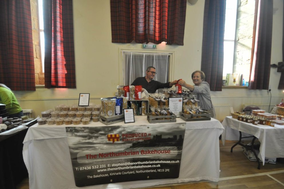 The Northumbrian Bakehouse stall