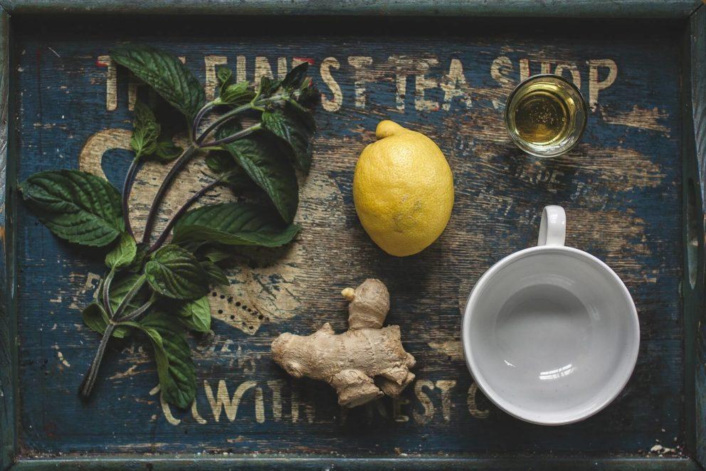 Making herbal drinks