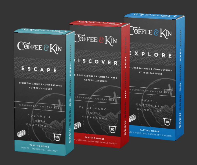 Coffee capsule boxes