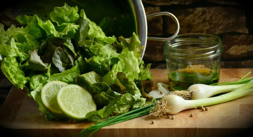 Green salad food