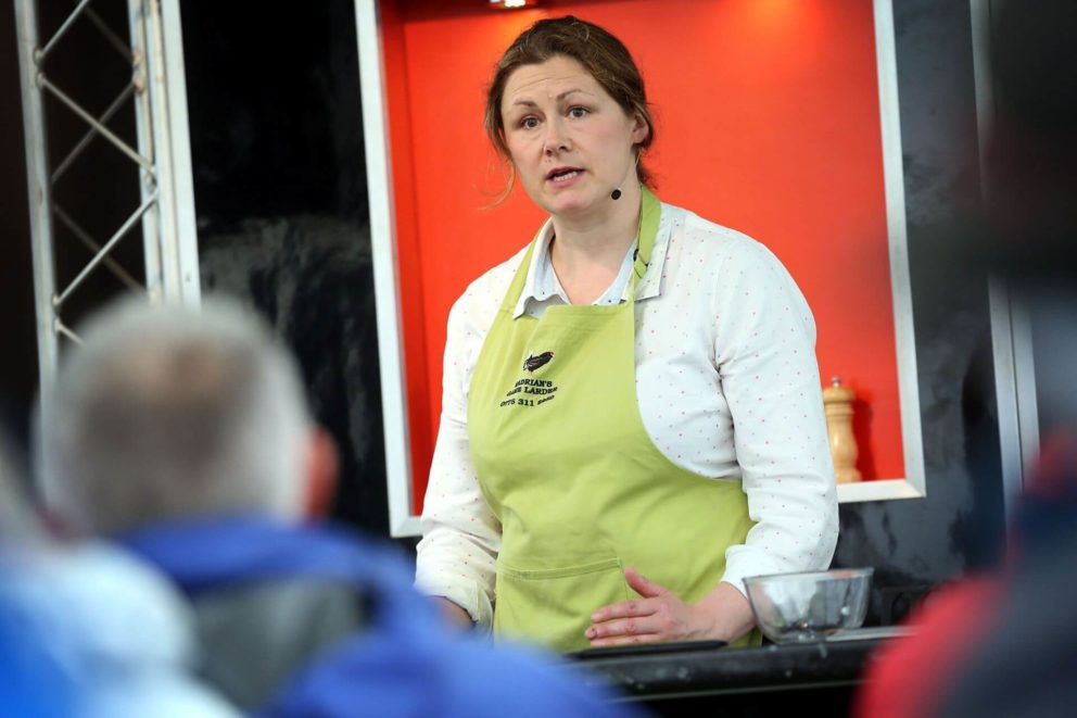 Cooking demonstration by Hadrian's Game Larder